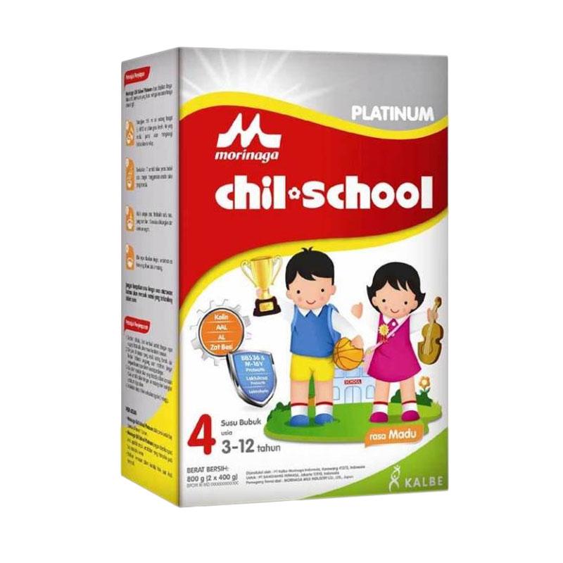 harga Morinaga Chilschool Platinum Susu formula - Madu [800 g] Blibli.com