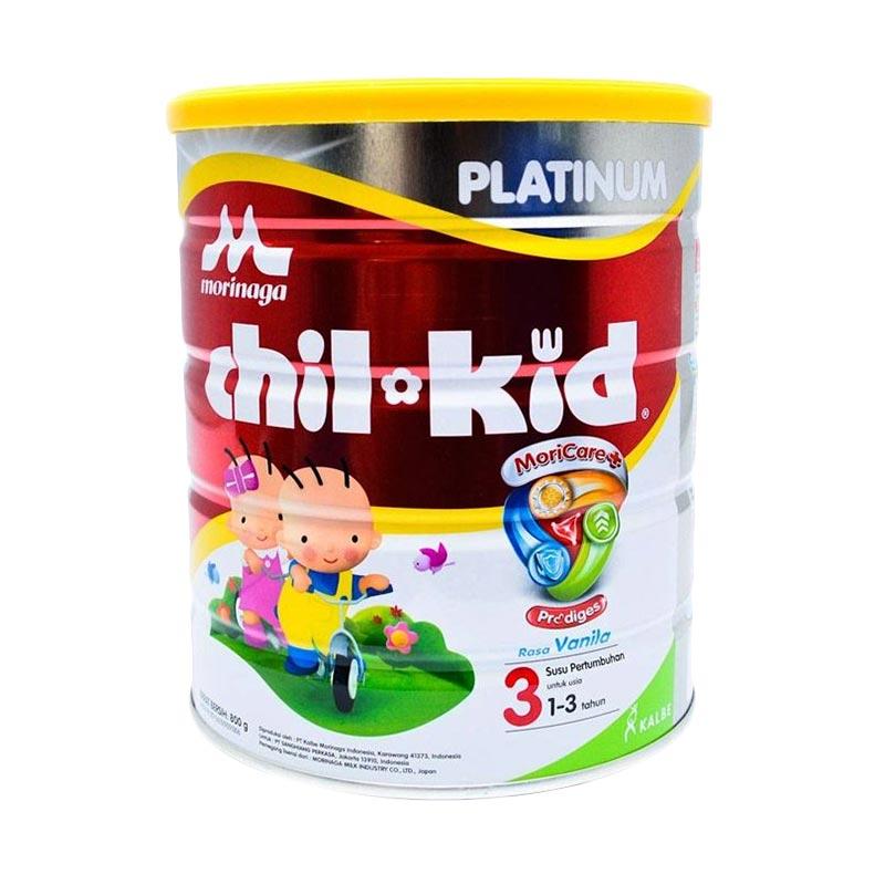 Morinaga Chil Kid Platinum Moricare+ Vanila Susu Formula [800 Gr]