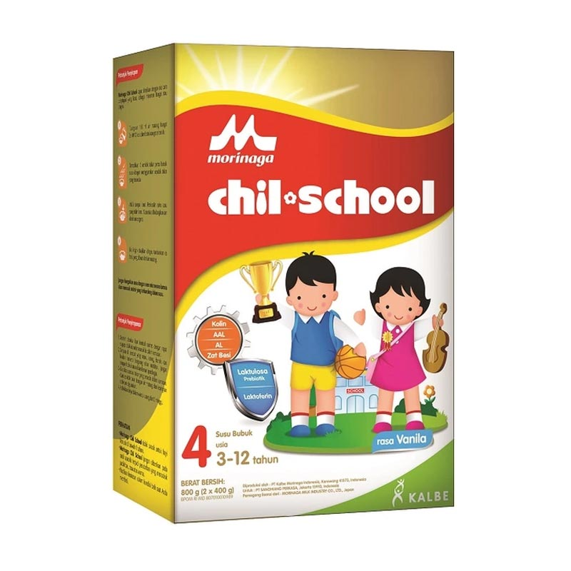 Morinaga Chil School Vanila Reguler Susu Formula [800 g]