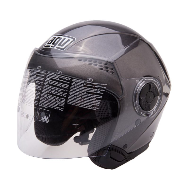 AGV City Light Solid Antracite Helm Open Face