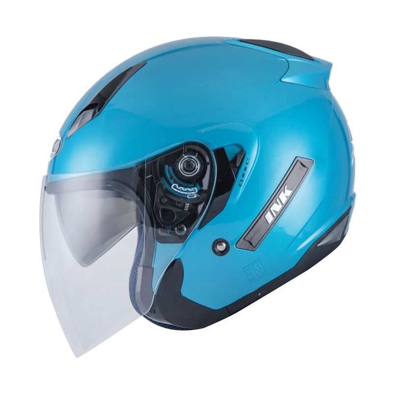Ink Metro 2 Solid Ice Blue Helm Half Face