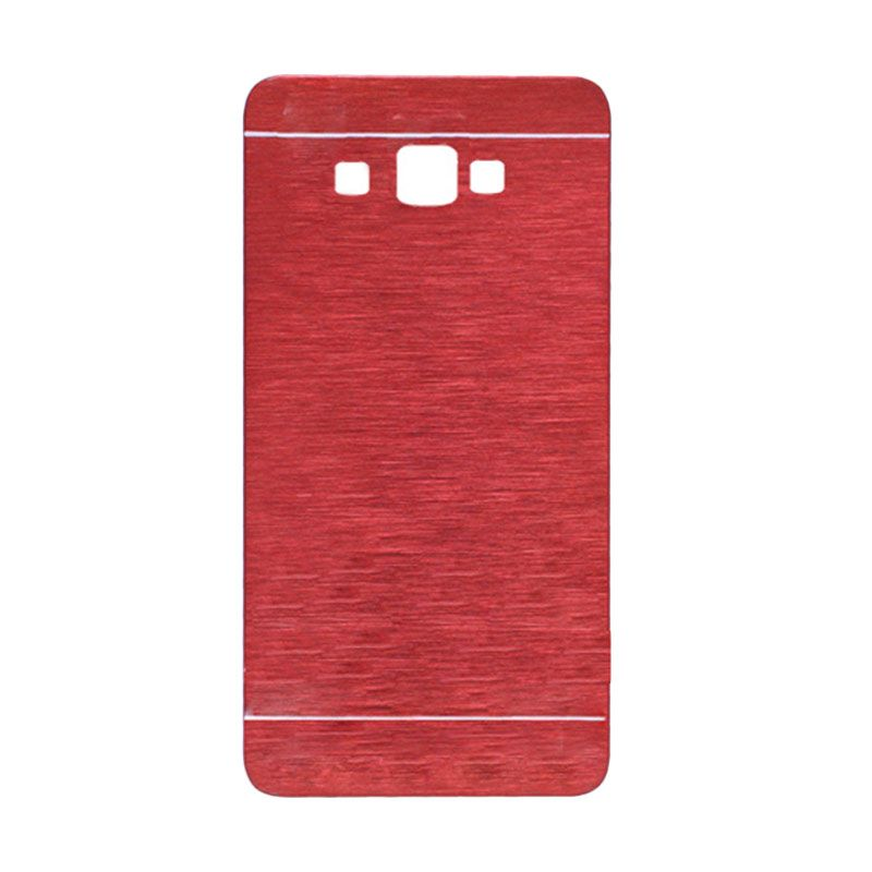 Motomo Hardcase Merah Casing for Samsung Galaxy A7