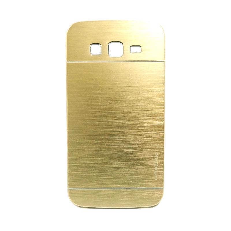 Motomo Metal Case Casing for Samsung Galaxy Grand Prime G530 - Gold