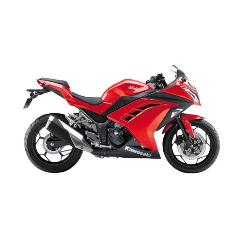 Indent - Kawasaki Ninja 250cc Red Sepeda Motor [Uang Muka Kredit]
