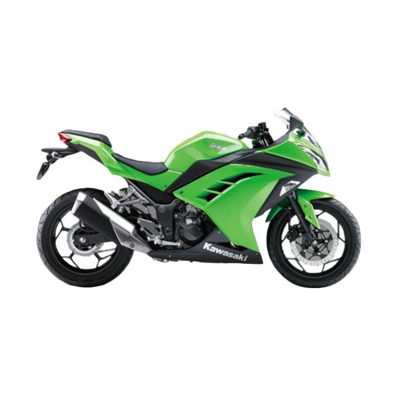 Indent - Kawasaki Ninja 250CC Green Sepeda Motor