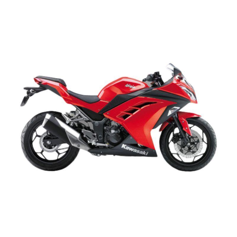 Indent - Kawasaki Ninja 250CC Red Sepeda Motor [OTR Bogor]