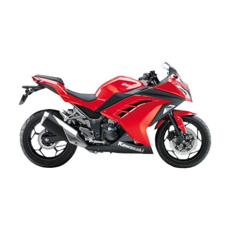 Indent - Kawasaki Ninja 250CC Red Sepeda Motor