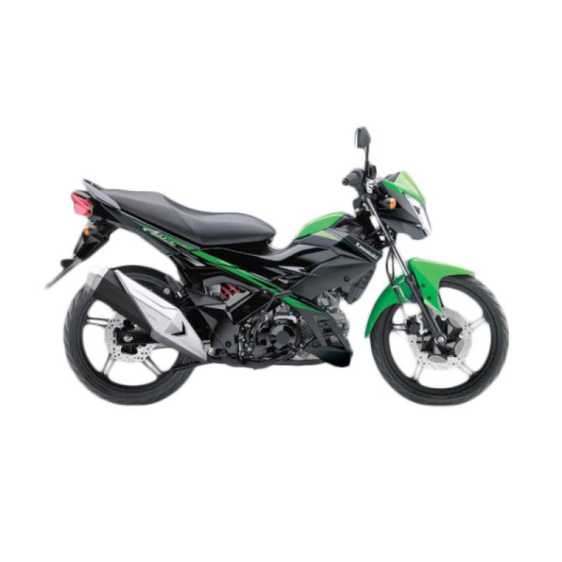 Kawasaki Athlete PRO Green Sepeda Motor [DP 4.500.000]