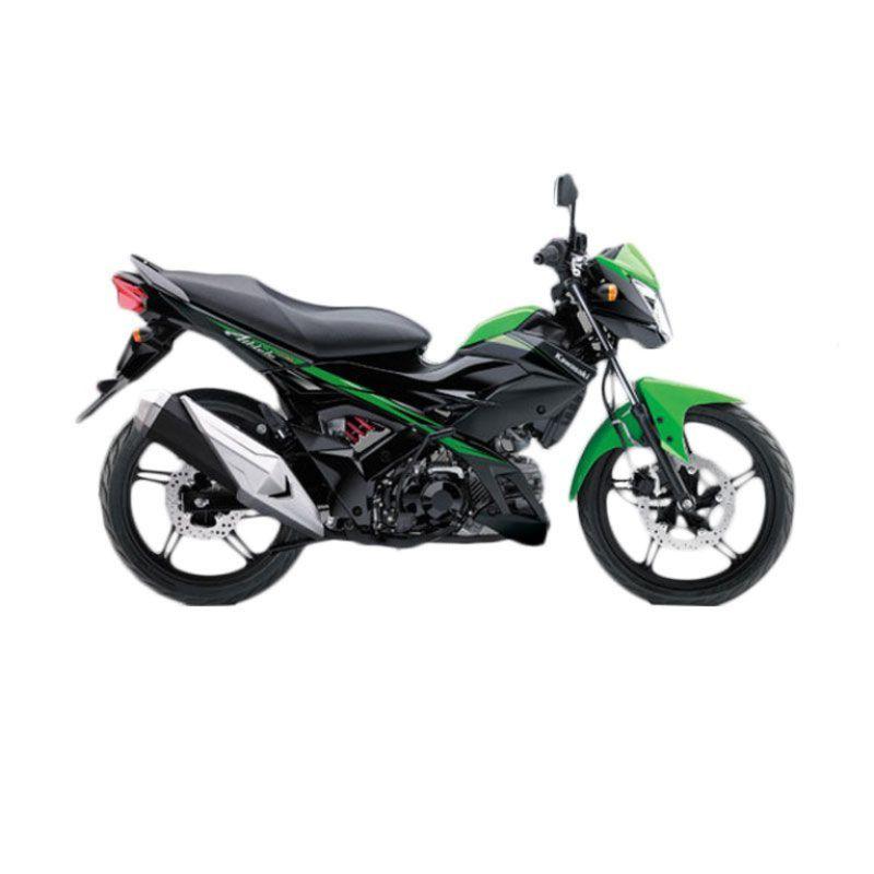 Kawasaki Athlete PRO Green Sepeda Motor [DP 4.000.000]