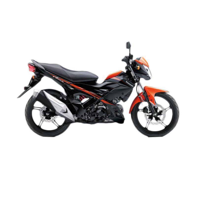 Kawasaki Athlete PRO Orange Sepeda Motor