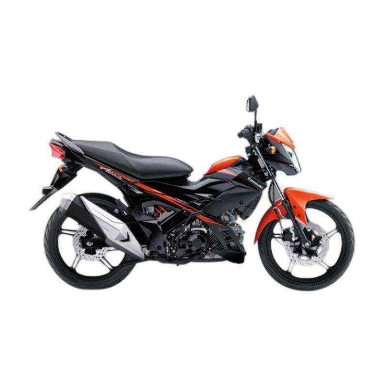 Kawasaki Athlete PRO Orange Sepeda Motor [DP 5.000.000]