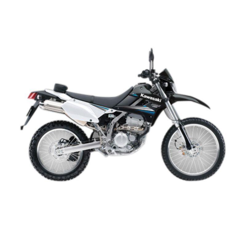 Kawasaki D-Trackerx Black Sepeda Motor [DP 16.000.000]