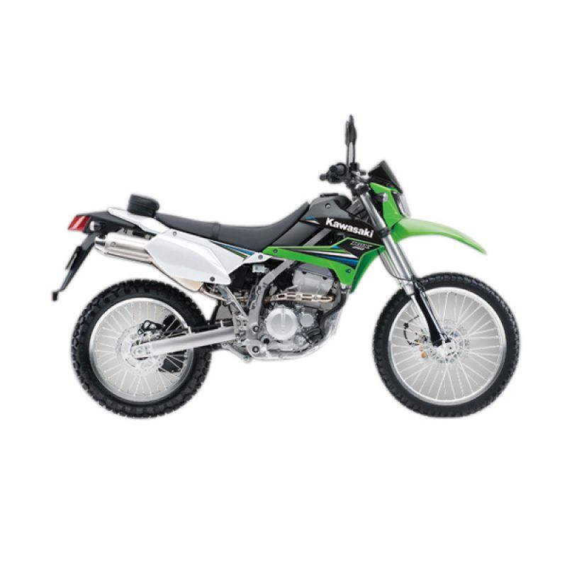 Kawasaki D-Trackerx Green Sepeda Motor [DP 14.000.000]