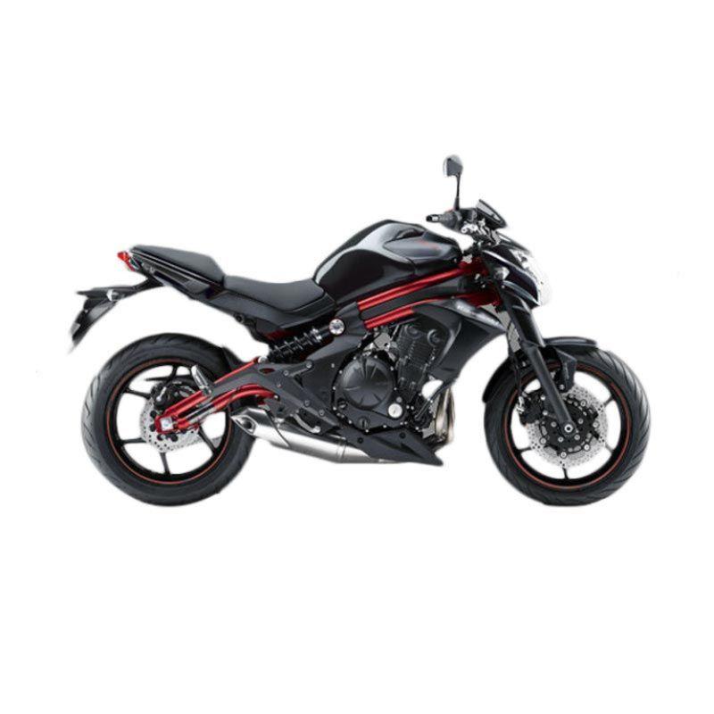 Kawasaki ER-6N ABS 650 Black Sepeda Motor [DP 42.500.000]