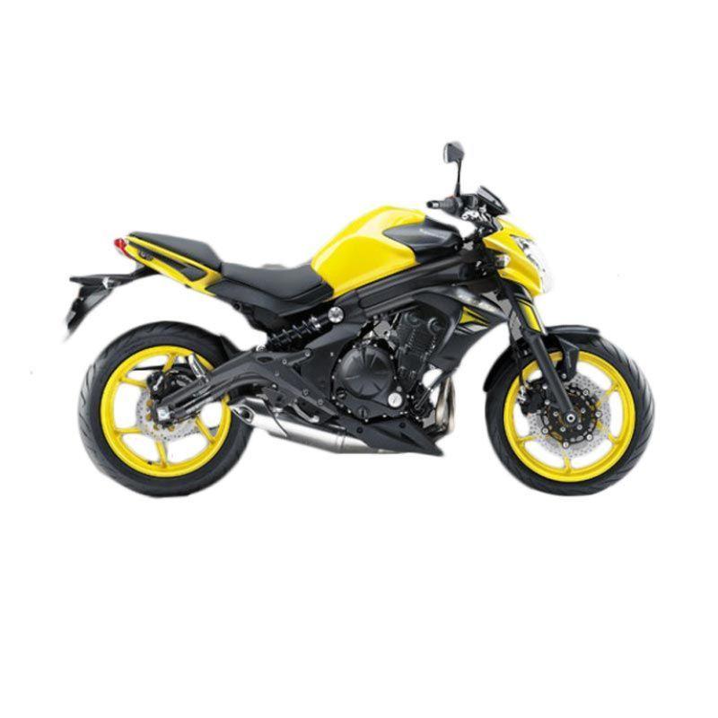 Kawasaki ER-6N ABS 650 Yellow Sepeda Motor [DP 45.000.000]