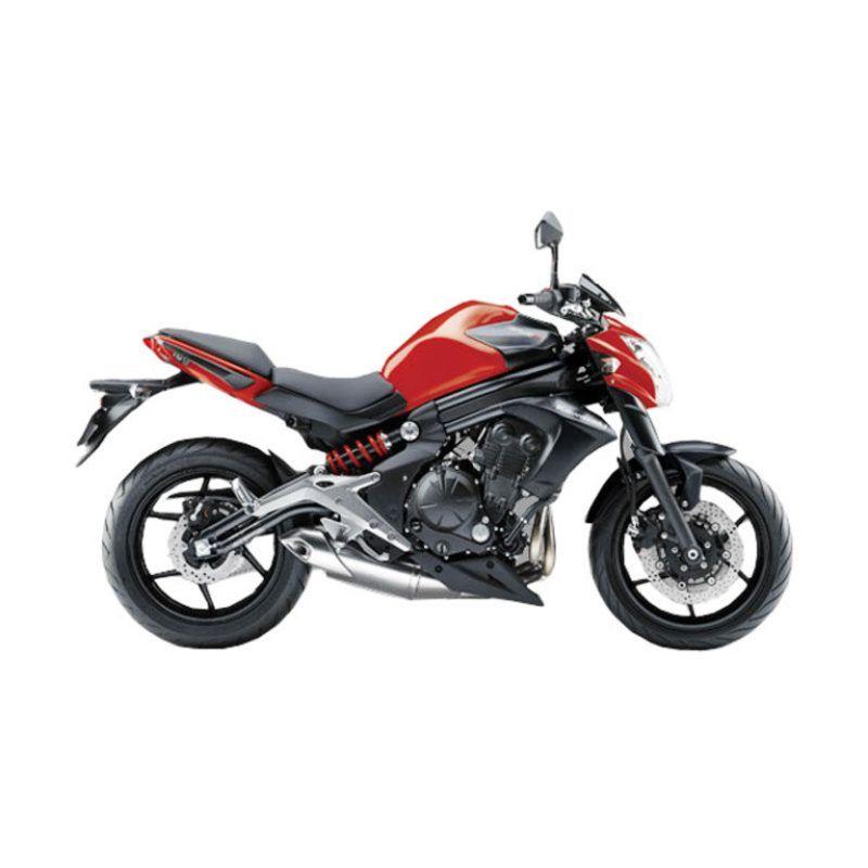 Kawasaki ER-6N Red Sepeda Motor