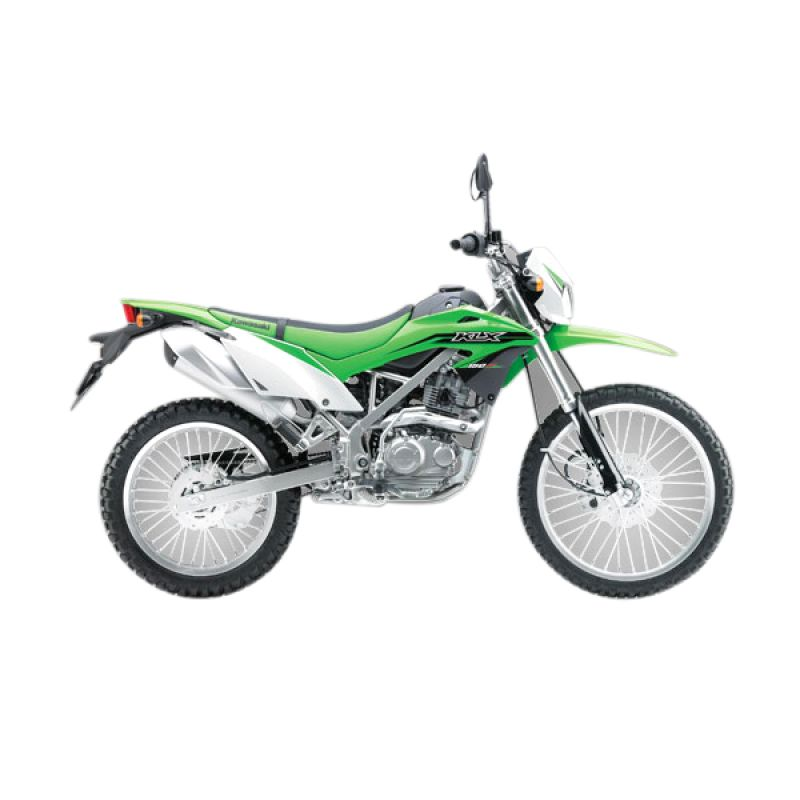 Kawasaki KLX 150 BF Green Sepeda Motor [DP 6.500.000] (Tangerang) (Green)