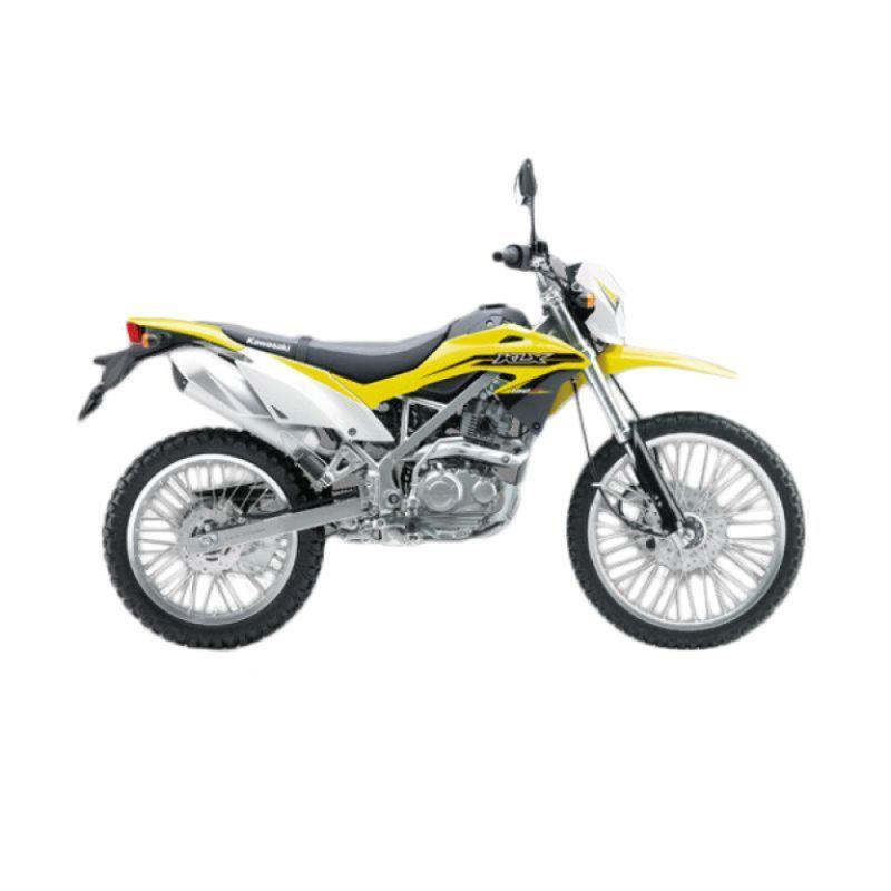 Kawasaki KLX 150 BF Yellow Sepeda Motor [DP 8.000.000]