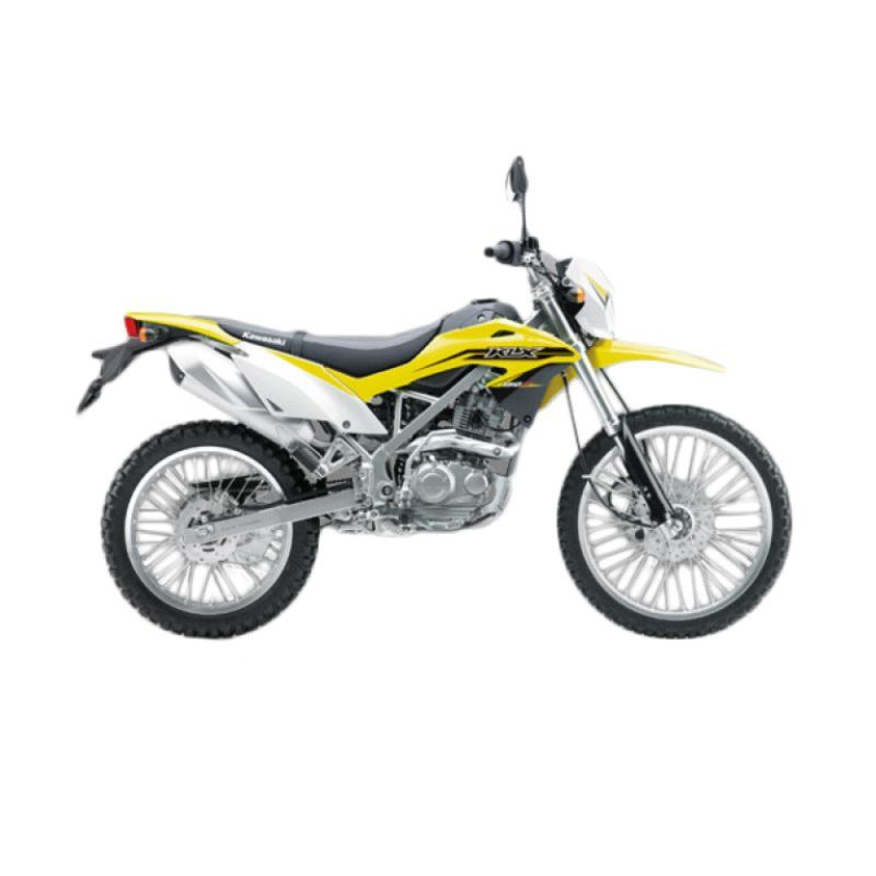 Kawasaki KLX 150 BF Yellow Sepeda Motor [DP 7.000.000]