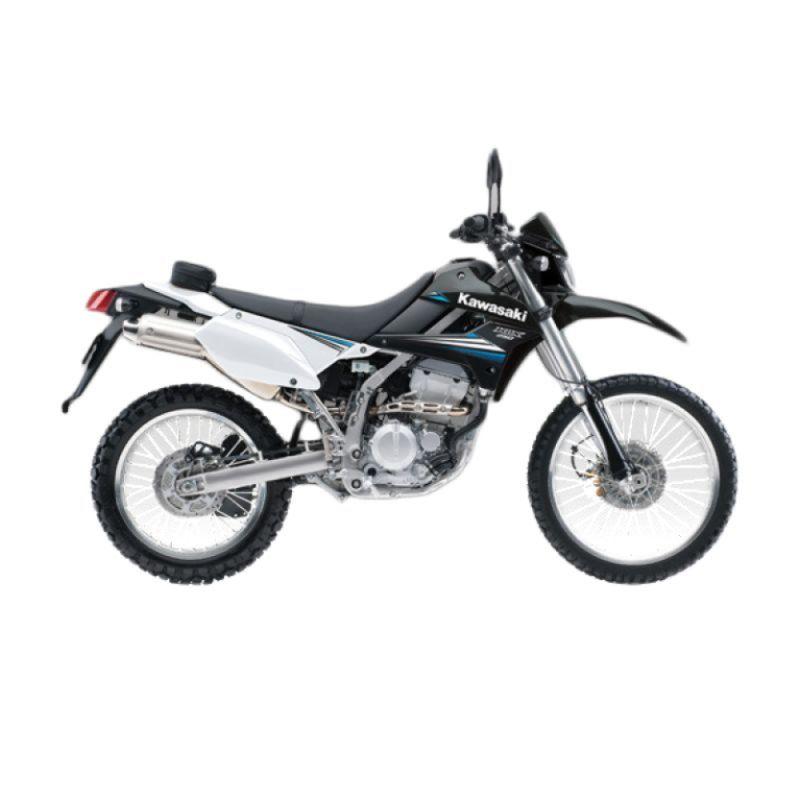 Kawasaki KLX 250 Black Sepeda Motor