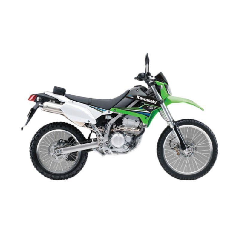 Kawasaki KLX 250 Green Sepeda Motor