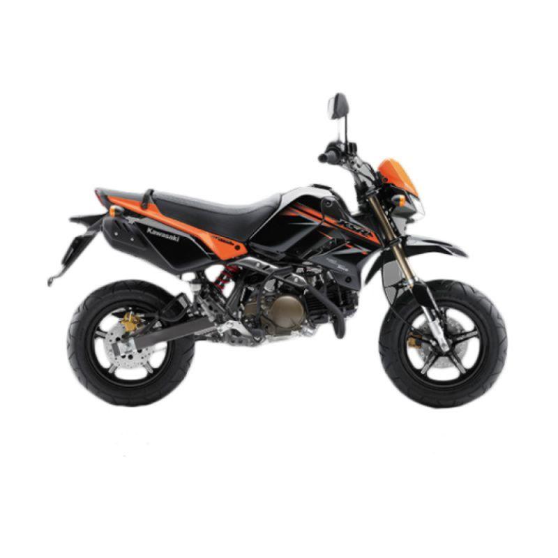 Kawasaki KSR 110 Orange Sepeda Motor [Uang Muka Kredit]