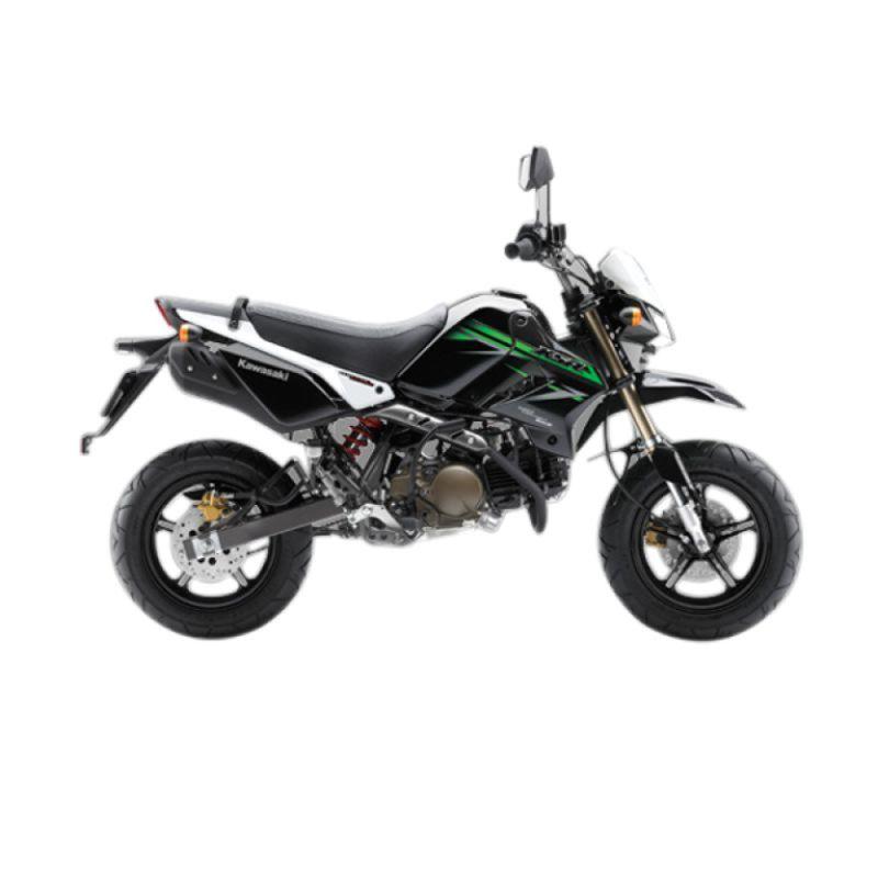 Kawasaki KSR 110 White Sepeda Motor [Uang Muka Kredit]