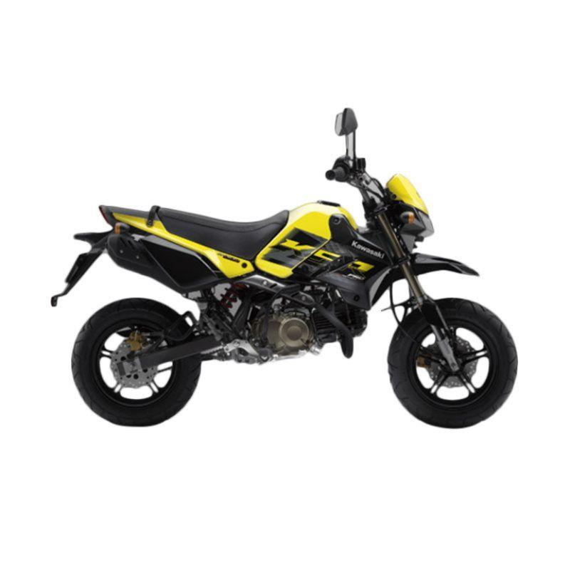 Kawasaki KSR Pro Yellow Sepeda Motor [Uang Muka Kredit]