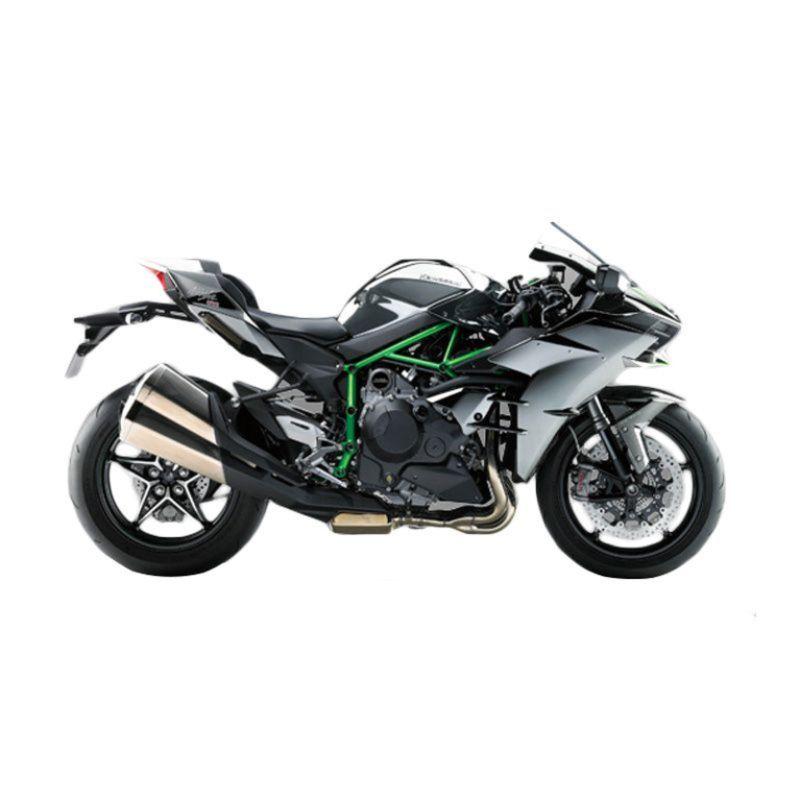 Kawasaki Ninja H2 Silver Metalic Sepeda Motor [DP 240.000.000]