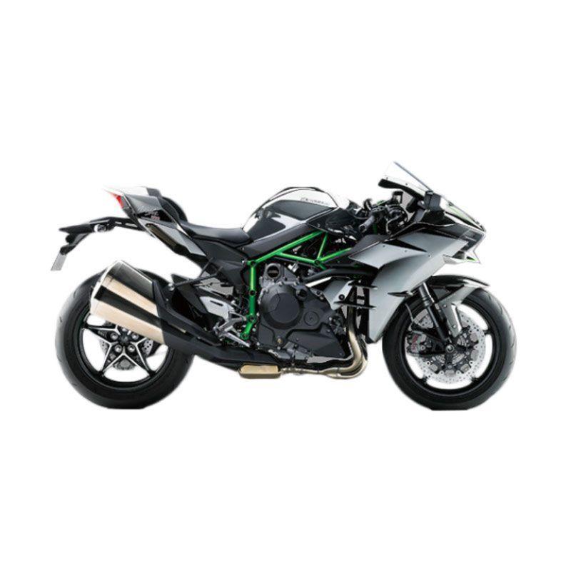 Kawasaki Ninja H2 Silver Metalic Sepeda Motor [DP 230.000.000]