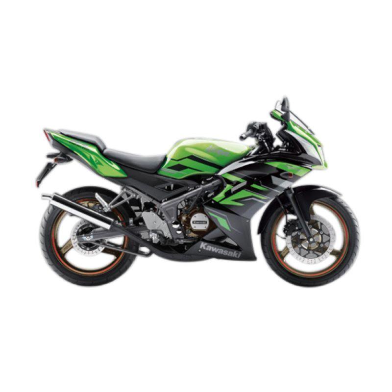 Kawasaki Ninja RR Green Sepeda Motor