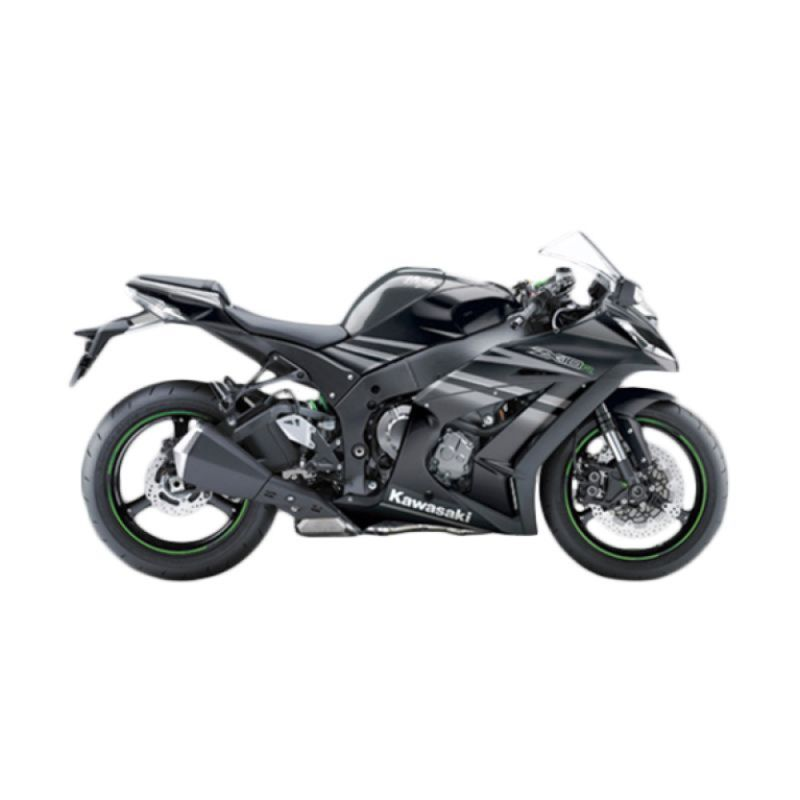 Kawasaki Ninja ZX-10R Black Sepeda Motor [DP 125.000.000]