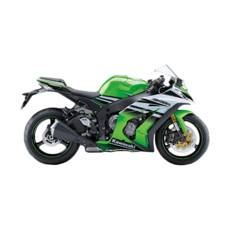 Kawasaki Ninja ZX-10R Green Sepeda Motor [DP 135.000.000]