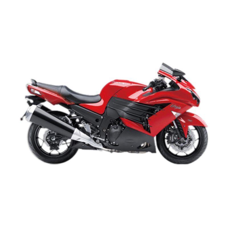 Kawasaki Ninja ZX-14R Red Sepeda Motor [DP 140.000.000]