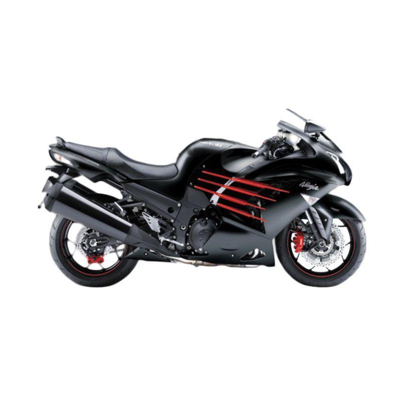 Kawasaki Ninja ZX-14R SE Black Sepeda Motor [DP 125.000.000]