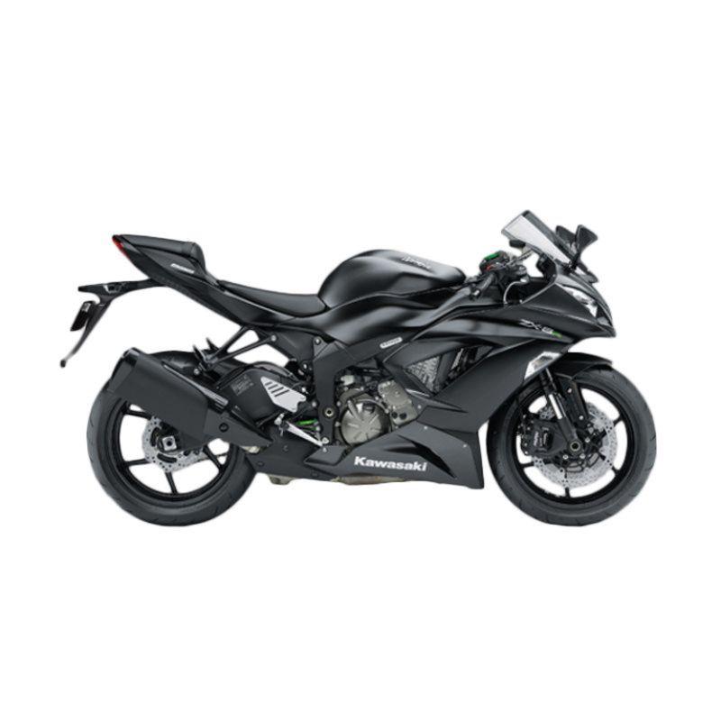 Kawasaki Ninja ZX-6R 636 ABS Grey Sepeda Motor [DP 100.000.000]