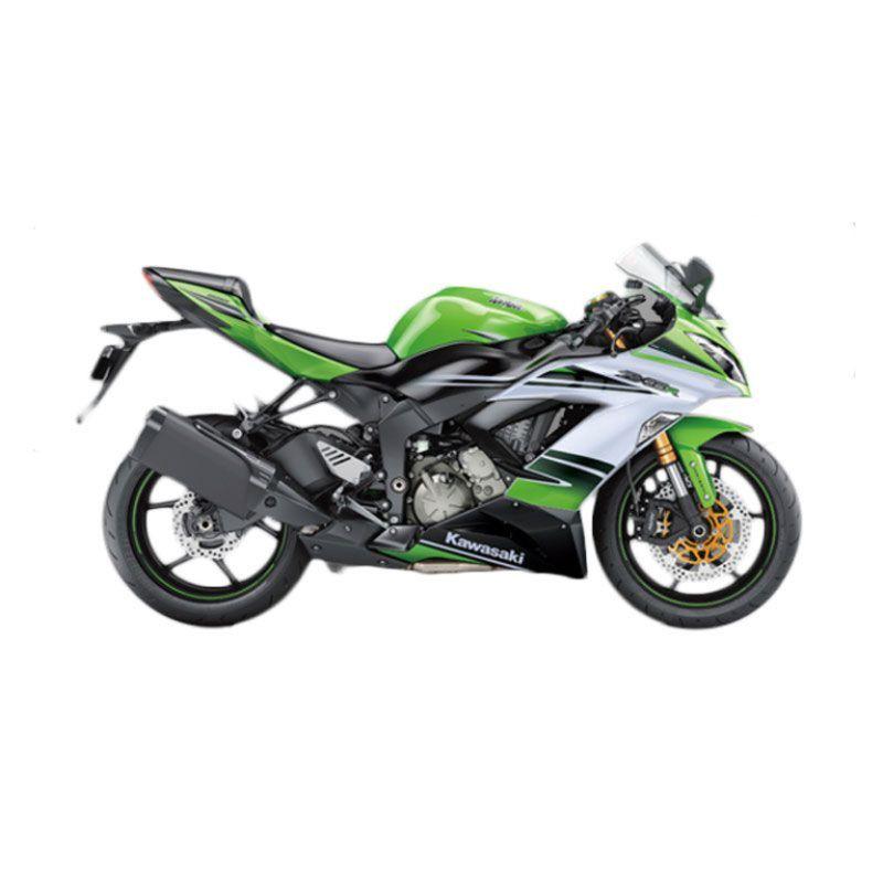 Kawasaki Ninja ZX-6R 636 ABS Special Edition Green Sepeda Motor [DP 110.000.000]