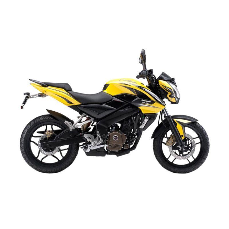 Kawasaki Pulsar 200NS Yellow Sepeda Motor [Uang Muka Kredit]