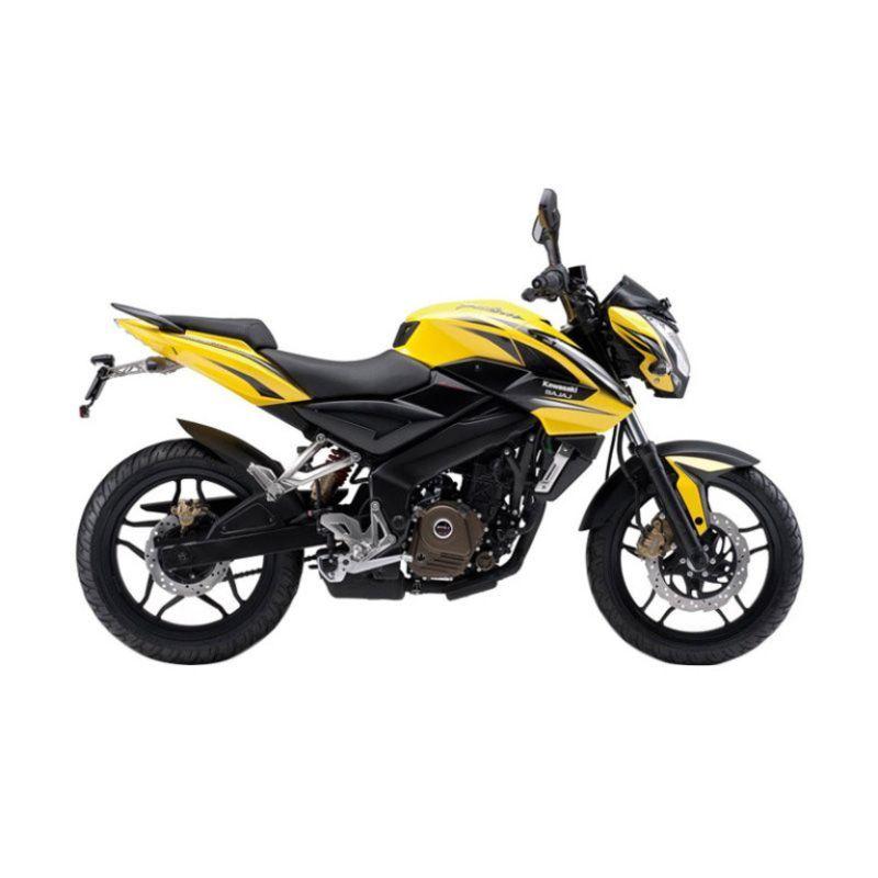 Kawasaki Pulsar 200NS Yellow Sepeda Motor