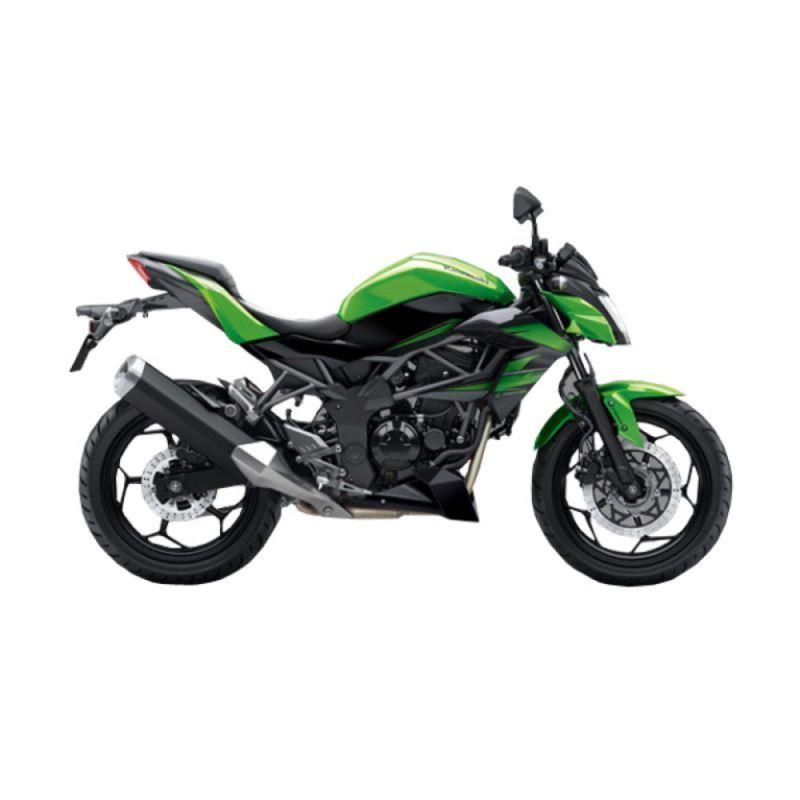 Kawasaki Z 250 SL ABS Green Sepeda Motor [Uang Muka Kredit]