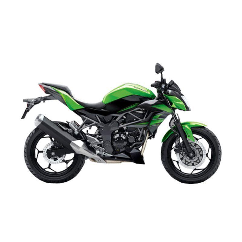 Kawasaki Z 250 SL ABS Green Sepeda Motor