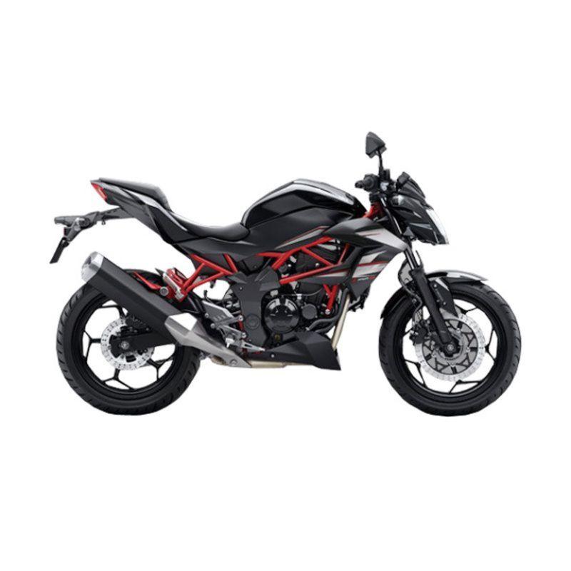 Kawasaki Z 250 SL Black Sepeda Motor [DP 9.000.000]