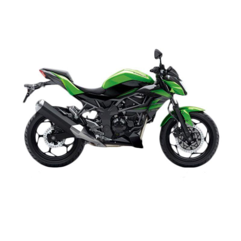 Kawasaki Z 250 SL Green Sepeda Motor [DP 10.000.000]