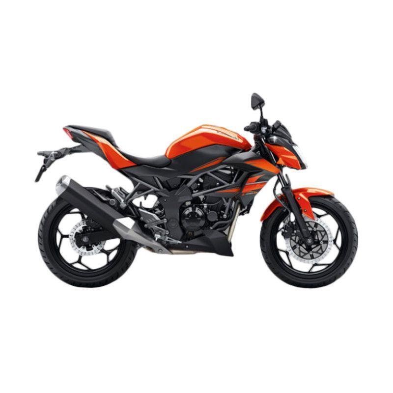 Kawasaki Z 250 SL Orange Sepeda Motor [DP 11.000.000]