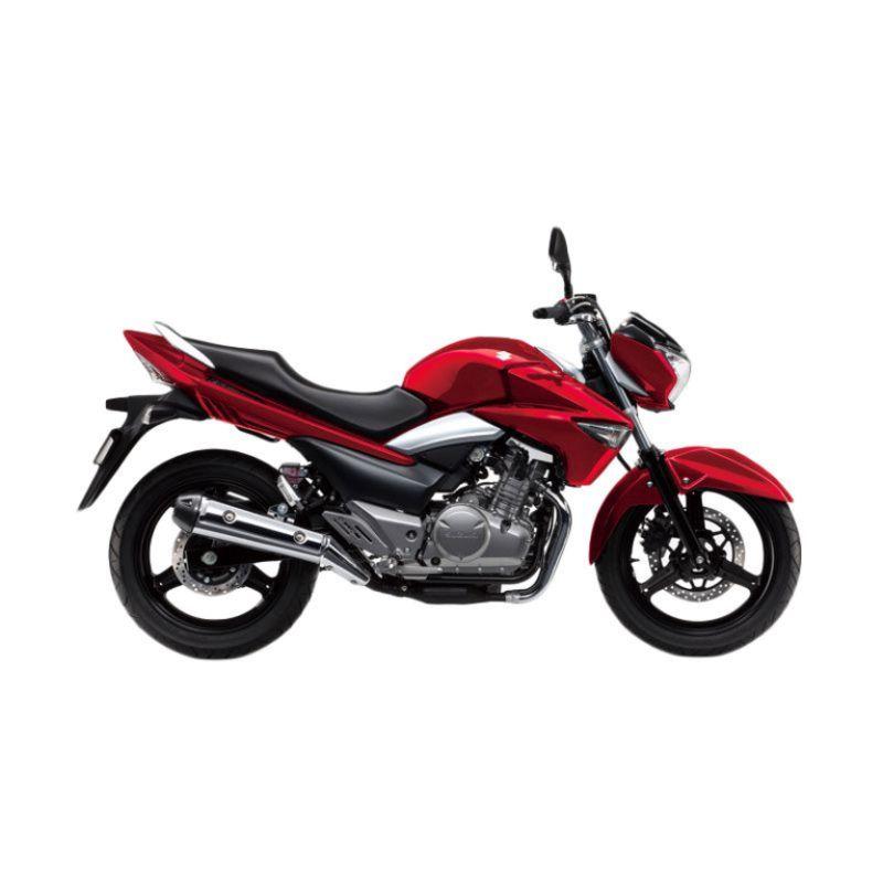 Suzuki Inazuma 250 CC Red Sepeda Motor [OTR Jadetabek]