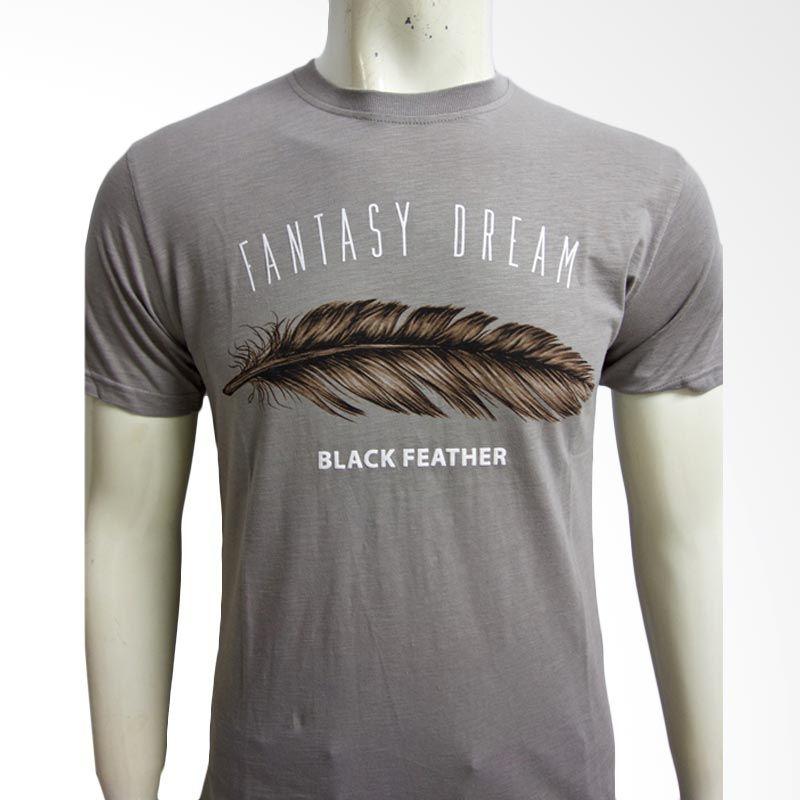 Moving Blue Fantasy Dream 4694 Coklat Muda Kaos Pria