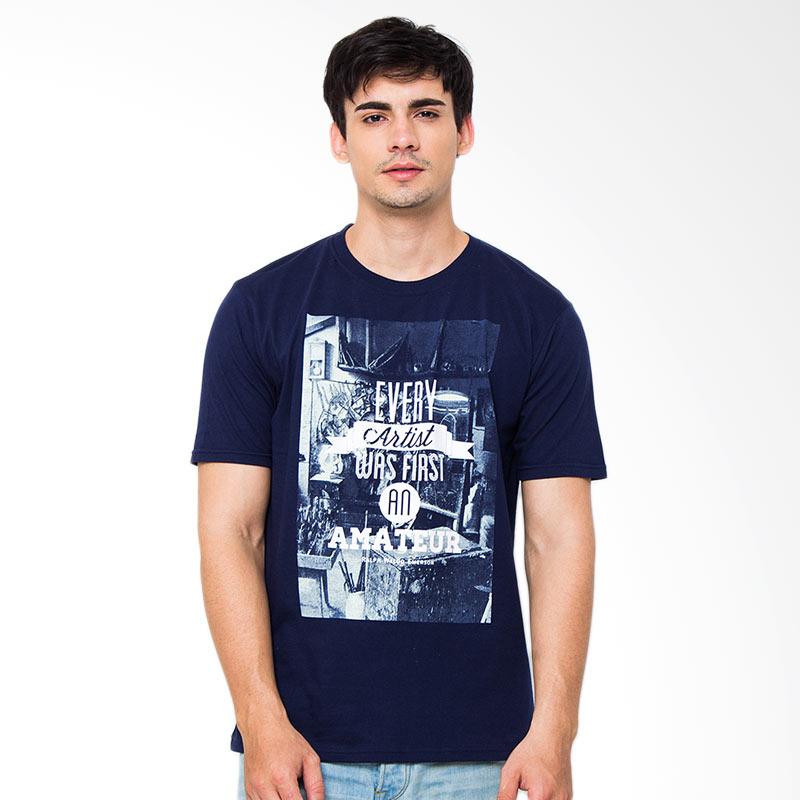Moving Blue Every Artist 4752 T'shirt - Navy Blue Extra diskon 7% setiap hari Extra diskon 5% setiap hari Citibank – lebih hemat 10%