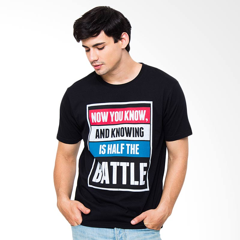 Moving Blue Now You Know 4714 T-Shirt - Black Extra diskon 7% setiap hari Extra diskon 5% setiap hari Citibank – lebih hemat 10%