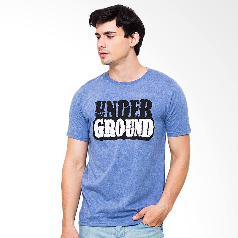 Moving Blue Under Ground 4731 T-Shirt - Blue Extra diskon 7% setiap hari Extra diskon 5% setiap hari Citibank – lebih hemat 10%