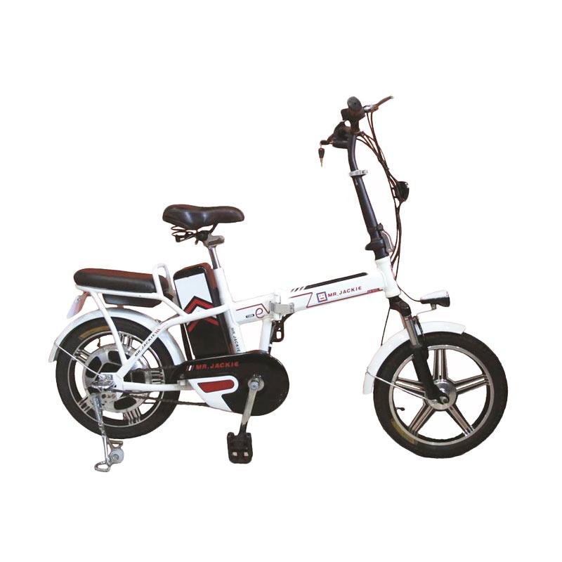 harga Mr Jackie EB-903 Vedro Sepeda Listrik - Putih Blibli.com